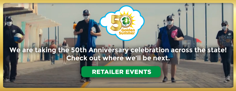 NJ Lottery 50th Anniversary