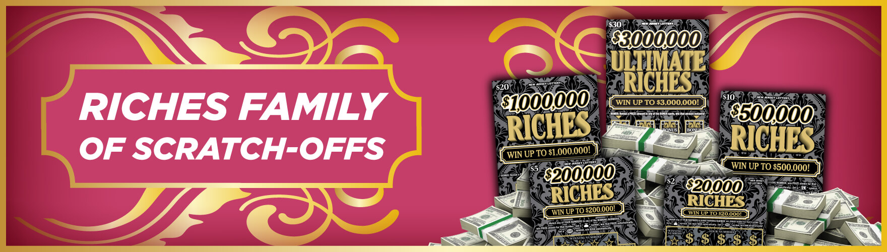 Riches Family Of Scratch-Offs