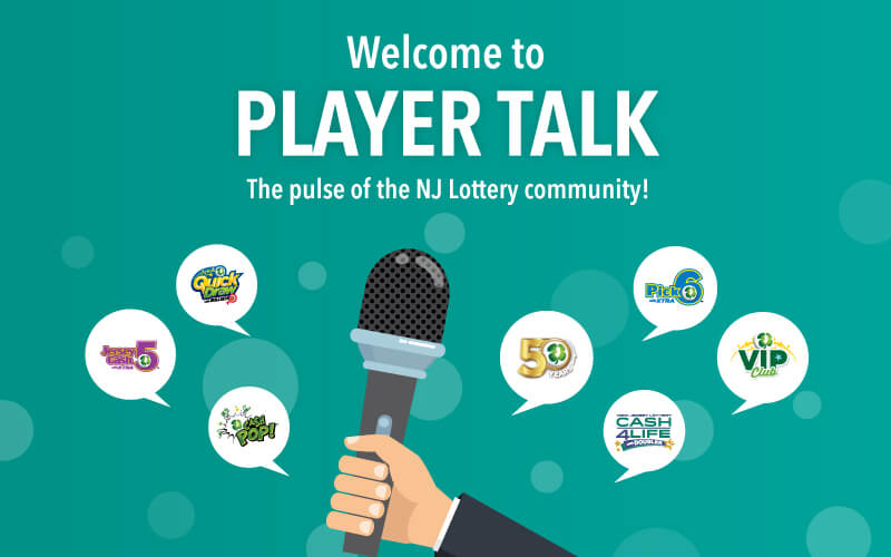 Player Talk: The pulse of the NJ Lottery community