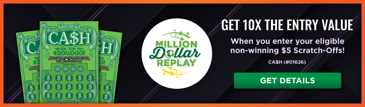 Million Dollar Replay - Multiply Your Entry Promotion