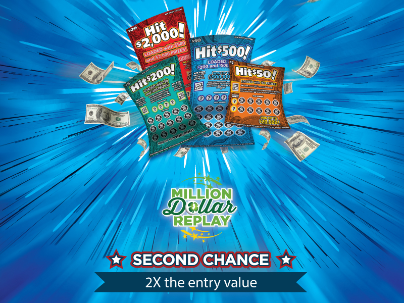 Hit Family - Get 2X the entry value into Million Dollar Replay